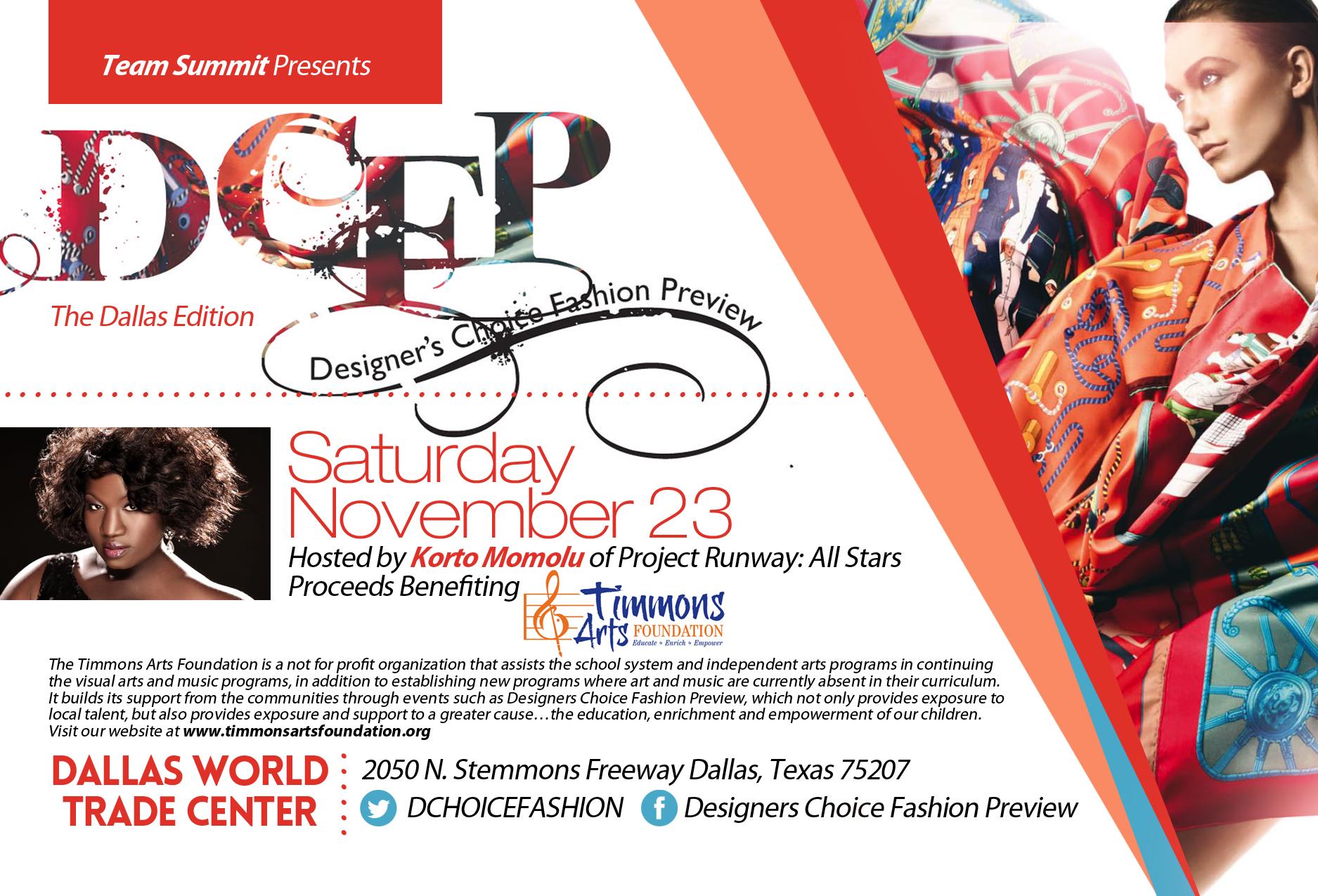 Designersw Choice Fashion Preview Dallas